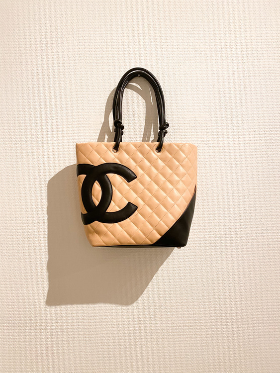 CHANEL Cambon Tote Bag Small