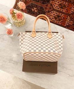 Louis Vuitton Saleya PM Damier Azur Tote Bag