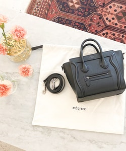 Celine Luggage Nano Bag