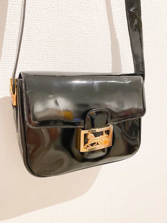 Celine Horse Carriage Vintage Bag Patent