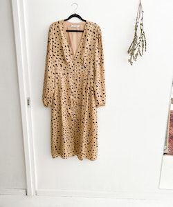 Adoore Paris Dress Leopard Strl.XL