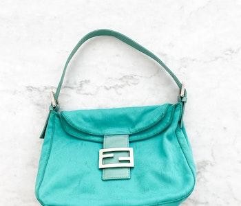 Fendi Baguette Fabric Bag