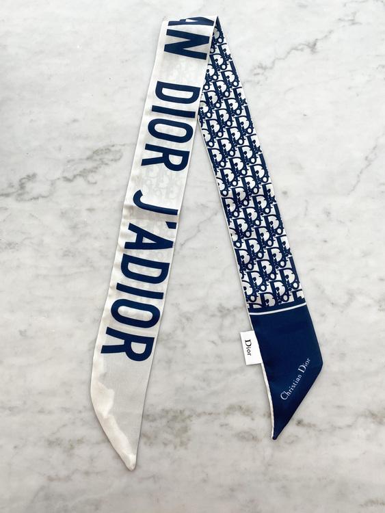 Dior Oblique Mitzah Twilly