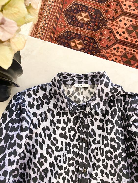GANNI Faulkner Shirt Strl.40