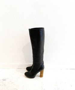 Chloé Leather Boots Strl. 36 1/2