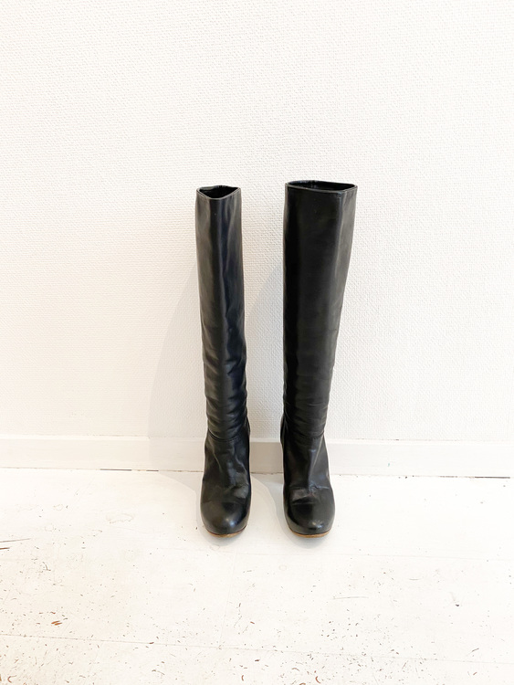 Chloé Leather Boots Strl. 36 1/2