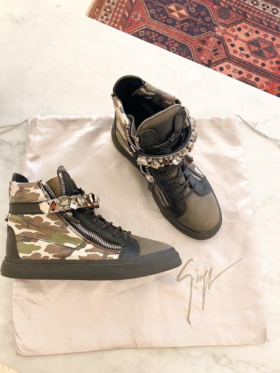 Giuseppe Zanotti Coby Sneakers Strl.37