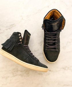 Saint Laurent Suede Sneakers Strl.36