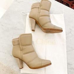 Chloé Ankle Boots Strl.38 1/2