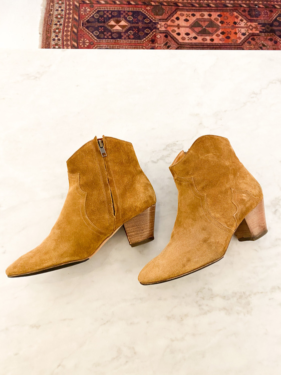 Isabel Marant Dicker Suede Boots Strl.39