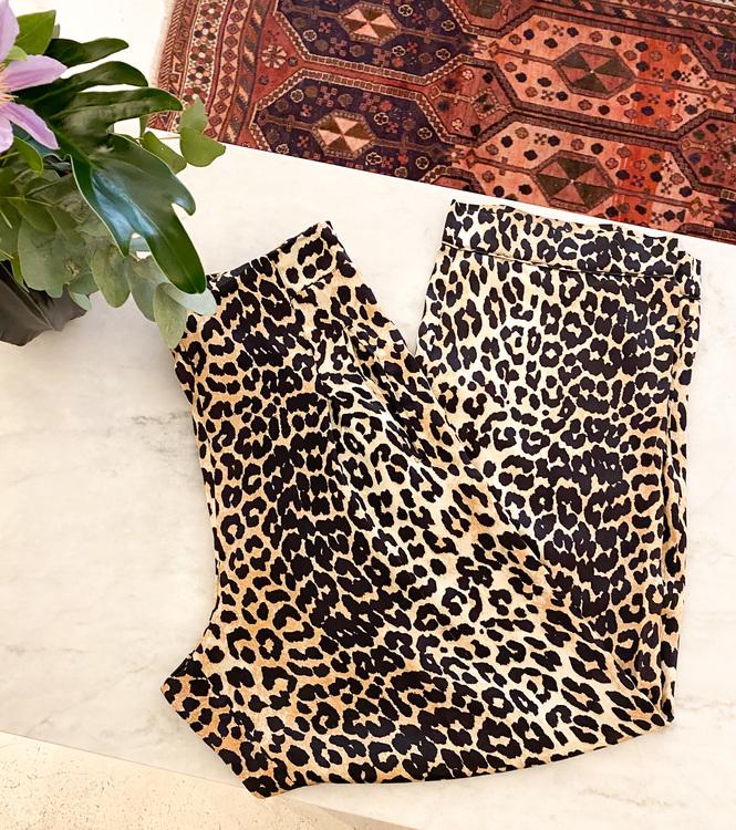 GANNI Dufort Silk Pants Strl.40