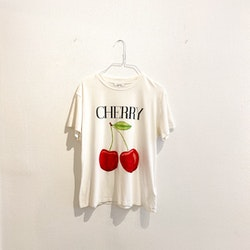 GANNI Cherry T-shirt (Small)