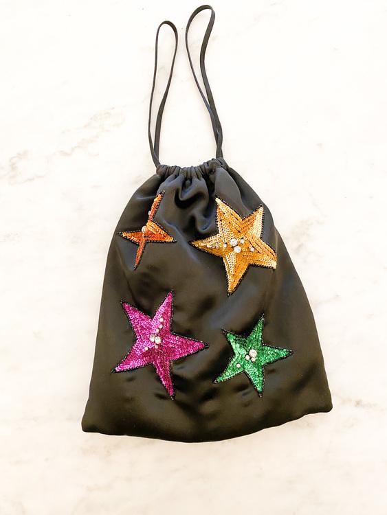 ATTICO Rosie Clutch Stars