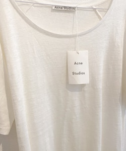 ACNE STUDIOS T-Shirt (Small)