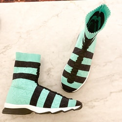 Fendi Rockoko Sock Sneakers
