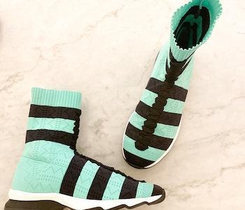 Fendi Rockoko Sock Sneakers