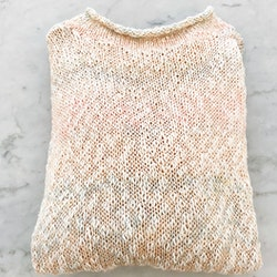 Faded Pink Vintage Knit (S/M)