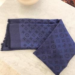 Louis Vuitton  Monogram Shawl Night Blue