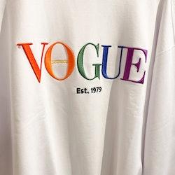 VOGUE Collection Logo Sweatshirt (L)