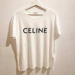 CELINE T-Shirt Logo  (L)