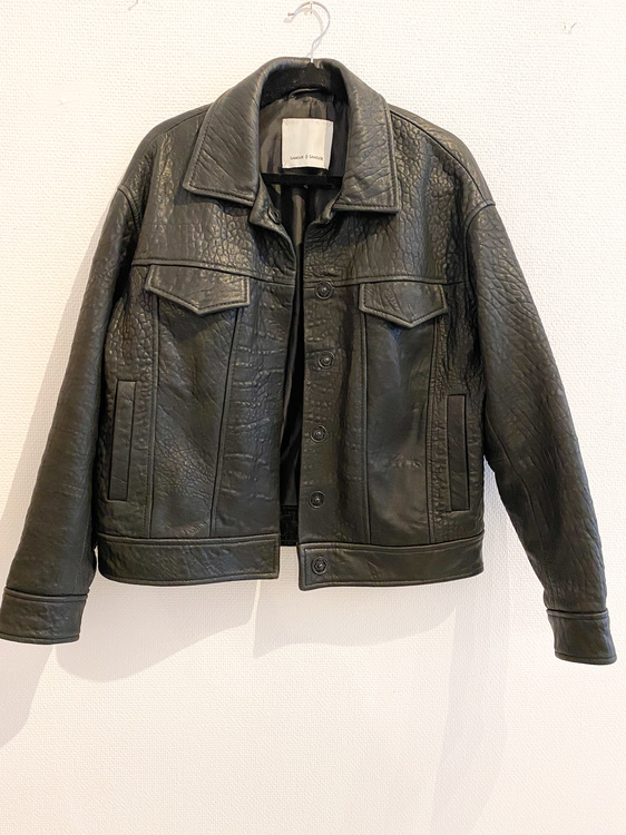 Samsøe & Samsøe Leather jacket (Small)