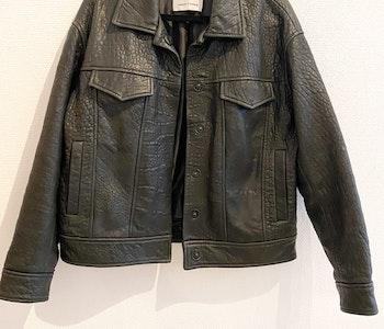 Samsøe & Samsøe Leather jacket (Small)
