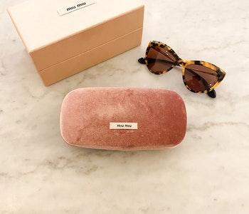 MIU MIU Cateye Sunglasses