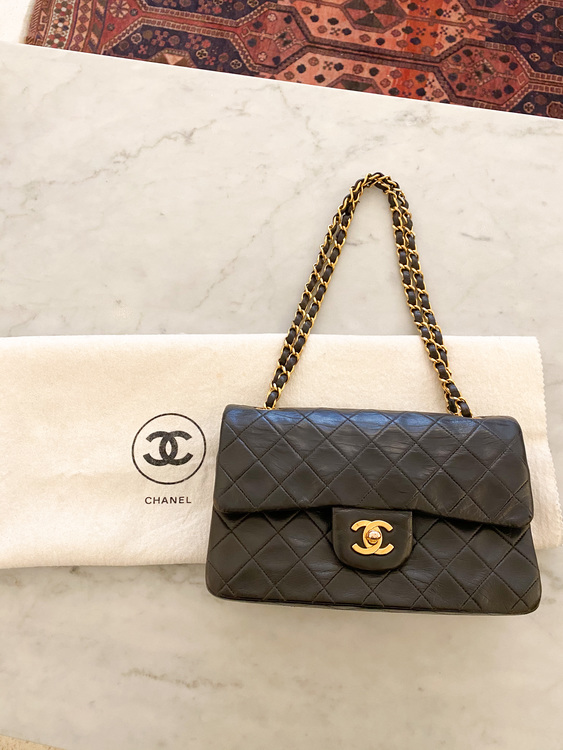 CHANEL Vintage Classic Small Double Flap Bag