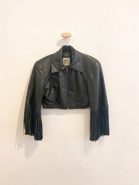 Fringe Leatherjacket  Vintage