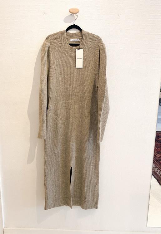 ADOORE Verbier Slit Dress Beige (44)