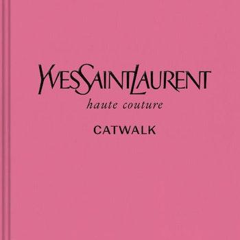 YVES SAINT LAURENT CATWALK BOOK