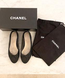 CHANEL Classic Ballerina (38,5)