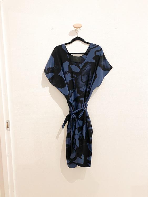 DIANA ORVING Silk Dress (M)