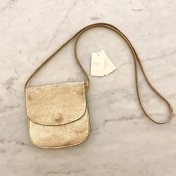 MAJE Gold Crossbody Bag