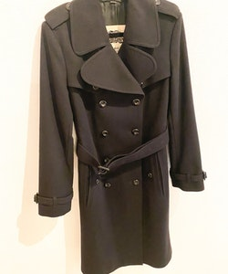 BURBERRY Wool/ Cashmere Trenchcoat (UK12)
