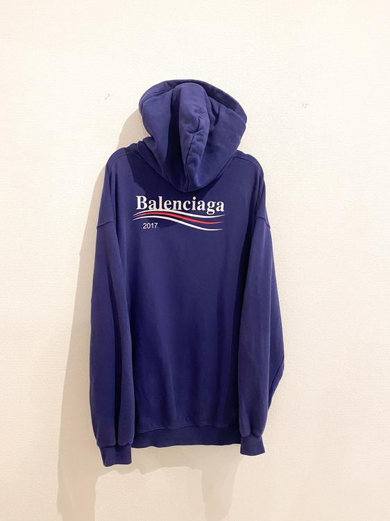 BALENCIAGA PRINT HOODIE (M)