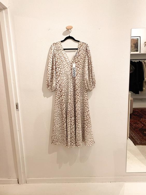 GANNI Dress Ai.A Specials Leopard  (42)