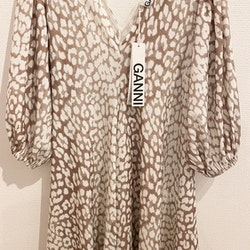 GANNI Dress Ai.A Specials Leopard  (42)