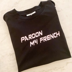 GANNI Pardon My French T-Shirt (Small)