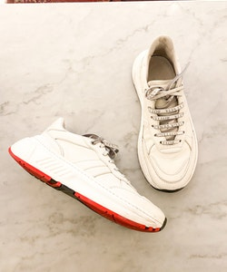 BOTTEGA VENETA Speedster Leather Sneakers  (40)