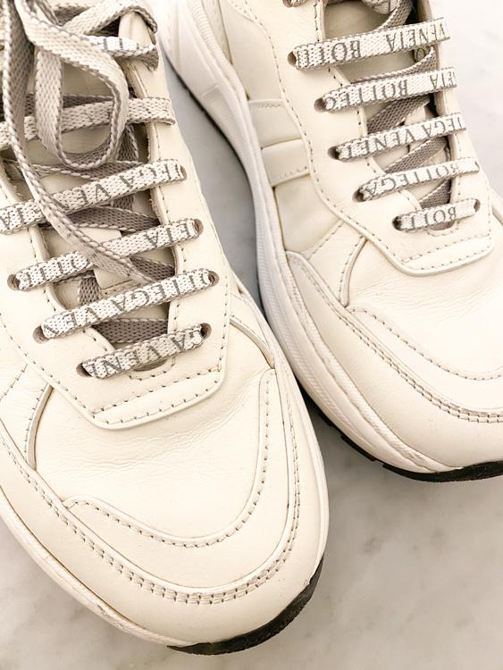 BOTTEGA VENETA Speedster Leather Sneakers  (40)