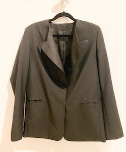 ACNE STUDIOS Cast Shark Wool Blazer (38)