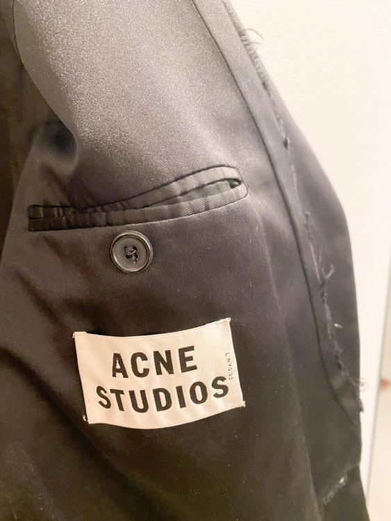 ACNE STUDIOS Cast Shark Wool Blazer (38)