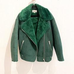 WEEKDAY Green Biker Jacket (XS)
