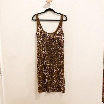 BY MALENE BIRGER Sequin Bronze Dress (XS)