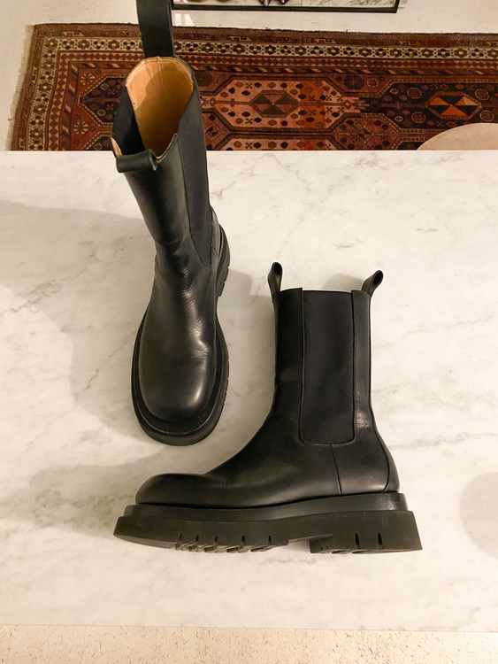 BOTTEGA VENETA Lug/ Storm Boots (39,5)