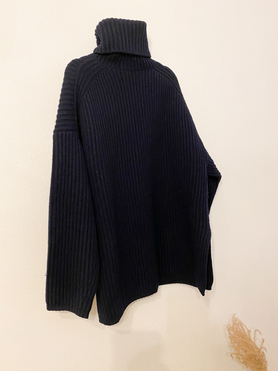 ACNE STUDIOS Wool Polo Knit (S)