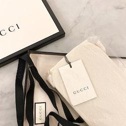 GUCCI Off White GG Tights Logo (L)