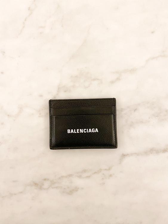 BALENCIAGA Leather Card Holder