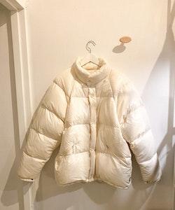 MONCLER Grenoble Vintage Puffer Jacket White (3)